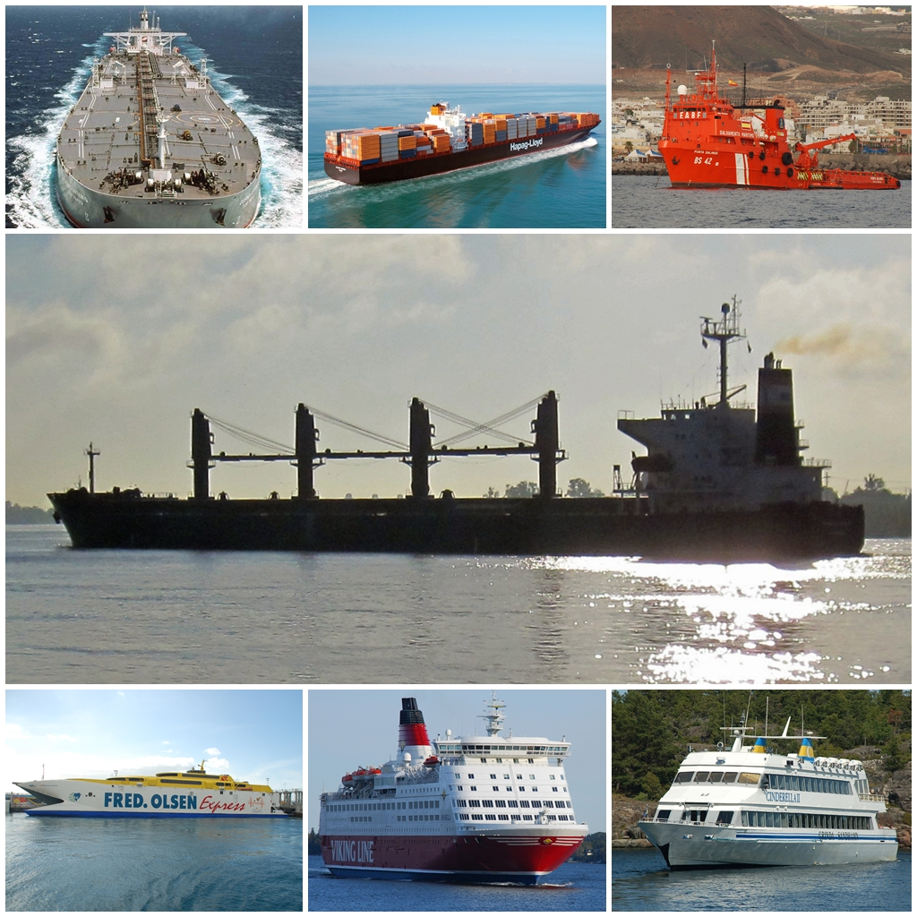 What are the types of ships 92